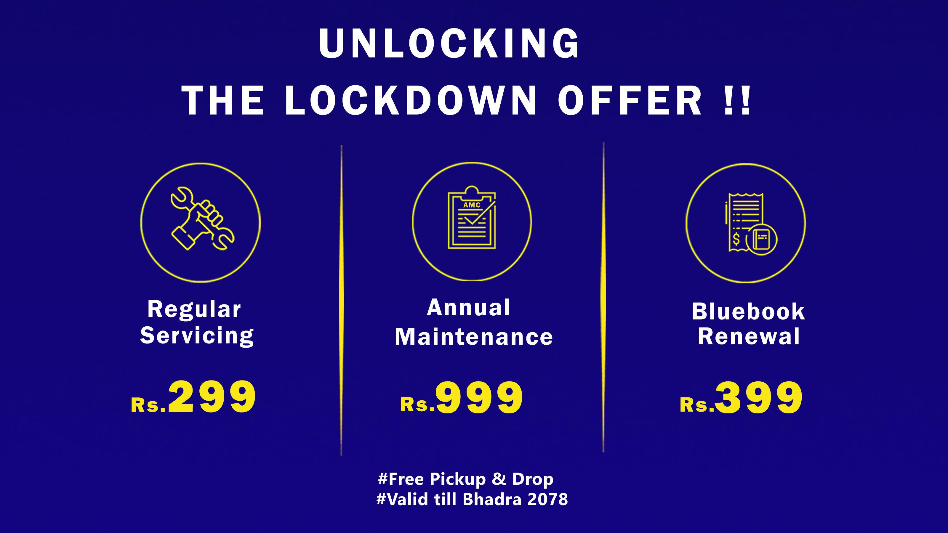 Unlock The Lockdown Offer!!